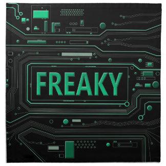 Freaky tech. napkins