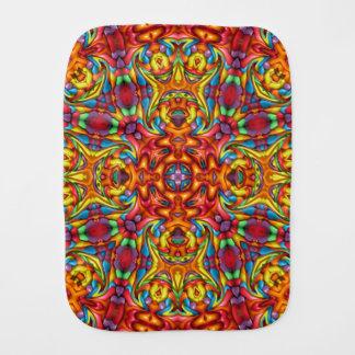 Freaky Tiki Kaleidoscope Burp Cloth