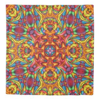 Freaky Tiki Kaleidoscope   Duvet Covers
