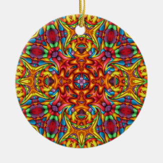 Freaky Tiki Kaleidoscope Ornaments 6 shapes