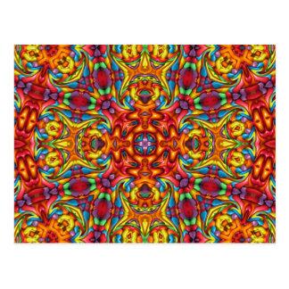 Freaky Tiki Kaleidoscope    Postcards
