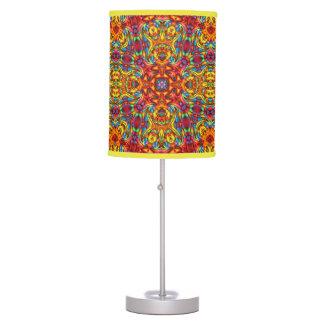 Freaky Tiki Kaleidoscope   Table Lamps