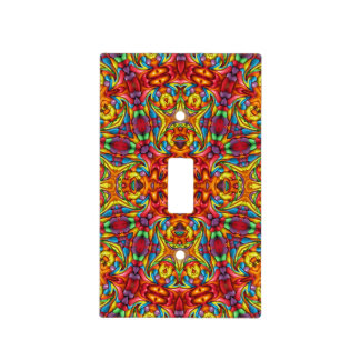 Freaky Tiki Pattern Switch Covers, 6 styles Light Switch Cover