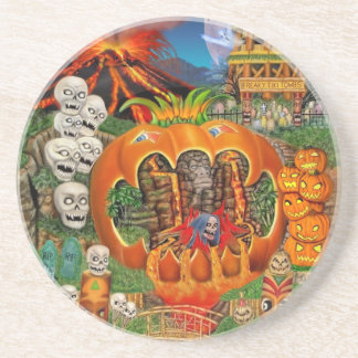 FREAKY TIKI TOMBS COASTER