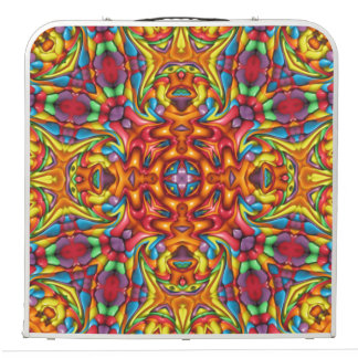 "Freaky Tiki Vintage Kaleidoscope   48""  Pong Table"