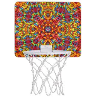 Freaky Tiki Vintage Kaleidoscope  Basketball Hoops