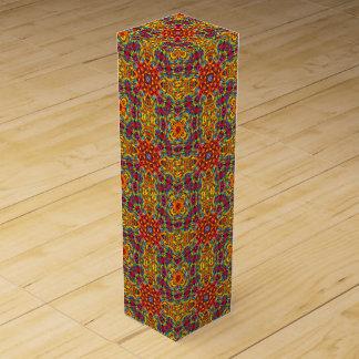 Freaky Tiki Vintage Kaleidoscope Wine Gift Box