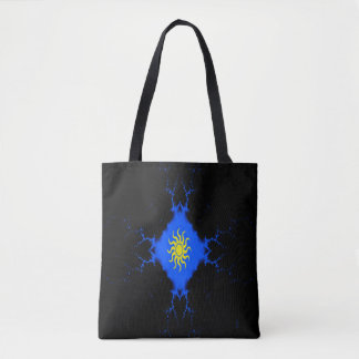 Freaky weather... tote bag