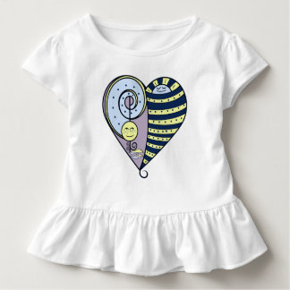 Freckled Moon Resting Sun Kids Top
