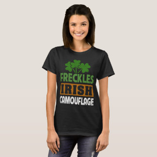 Freckles are the Irish Camouflage Tee for Women