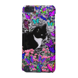 Freckles in Butterflies III, Tux Kitty Cat iPod Touch (5th Generation) Cases