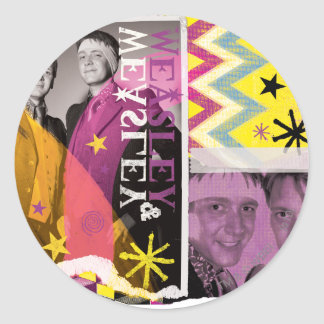 Fred and George Weasley Classic Round Sticker