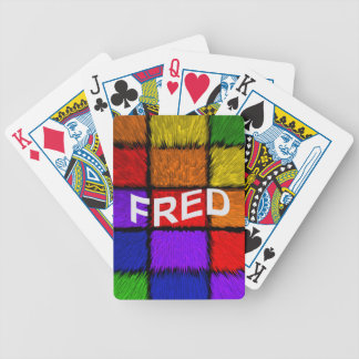 FRED BICYCLE PLAYING CARDS