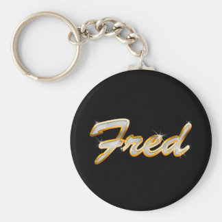 Fred Bling Keychain