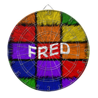 FRED DARTBOARD