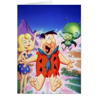 Fred Flintstone Under A Spell Card