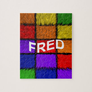 FRED JIGSAW PUZZLE