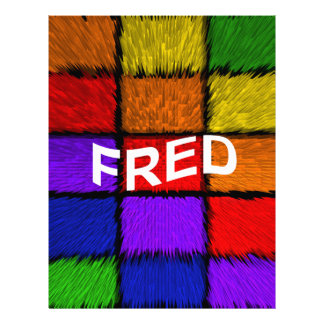 FRED LETTERHEAD