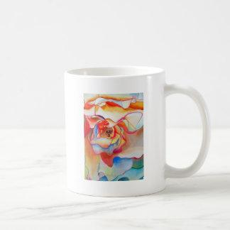 Fred martin begonia watercolour art coffee mug