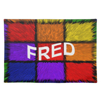 FRED PLACEMAT