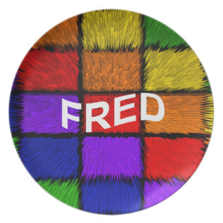 FRED PLATE