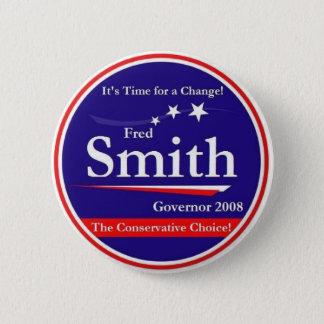 Fred Smith 2 Inch Round Button