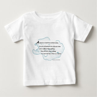 Fred The Amoeba - A SmartTeePants Science Poem Baby T-Shirt