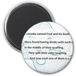 Fred The Amoeba - A SmartTeePants Science Poem Magnet