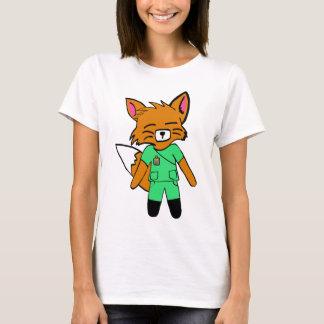 Fred the Fox- Nurse T-Shirt
