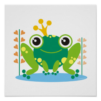 fred the froggy poster