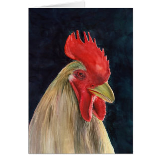 Fred The Rooster Card