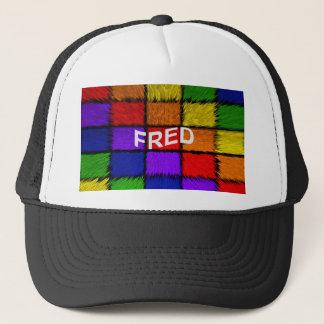 FRED TRUCKER HAT