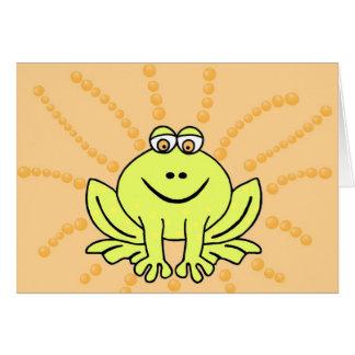 Freddie Frog Card