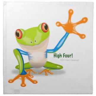 "Freddie Frog ""High Four"" Napkin"