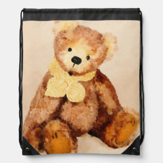 Freddie the Teddy Cinch Bag
