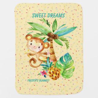 Freddie's Sweet Dreams Yellow Blankie Swaddle Blankets