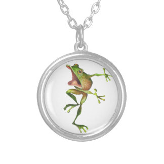 Freddy Frog NeckACE Silver Plated Necklace