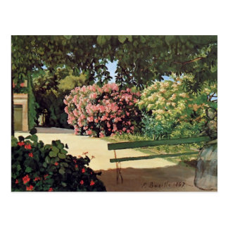 Frederic Bazille- The Terrace at Méric (Oleander) Post Card