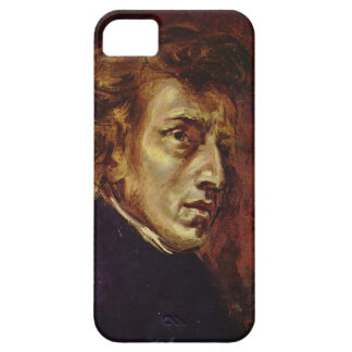 Frederic Chopin Portrait by Eugene Delacroix iPhone 5 Cases