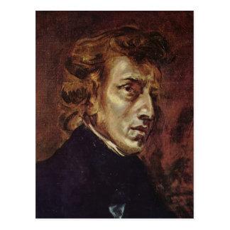 Frédéric Chopin Portrait Postcard