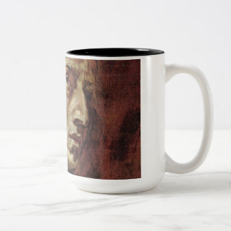 Frédéric Chopin Portrait Two-Tone Coffee Mug