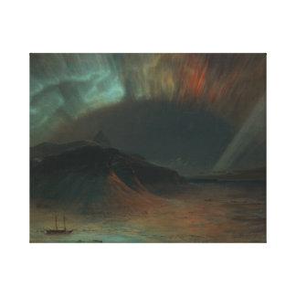 Frederic Edwin Church - Aurora Borealis Canvas Print