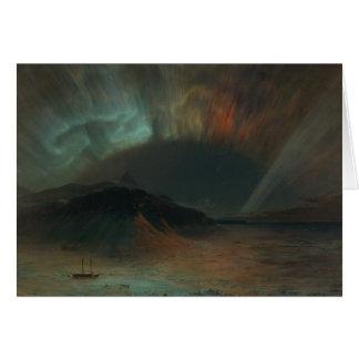 Frederic Edwin Church - Aurora Borealis Card