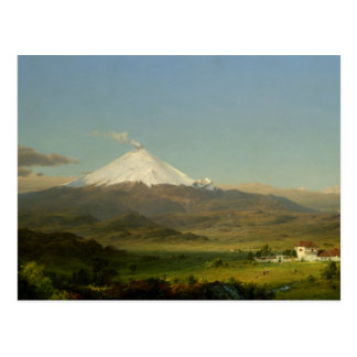 Frederic Edwin Church - Cotopaxi Postcard