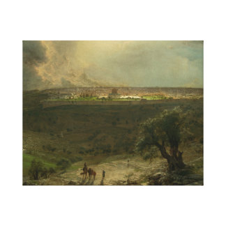 Frederic Edwin Church - Jerusalem from the Mount Canvas Print
