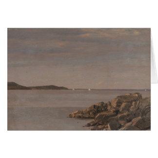 Frederic Edwin Church - Mt. Desert Island Card
