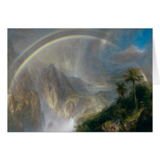Frederic Edwin Church - Rainy Season in the Tropic Card
