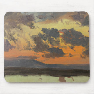 Frederic Edwin Church - Sky at Sunset, Jamaica Mouse Pad