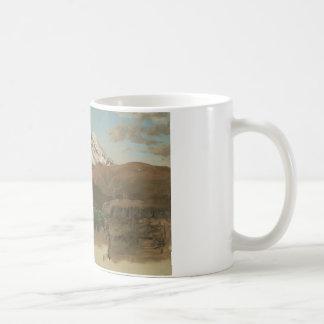 Frederic Edwin Church - Study of Mount Chimborazo Coffee Mug
