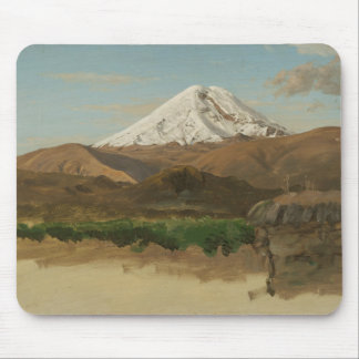 Frederic Edwin Church - Study of Mount Chimborazo Mouse Pad